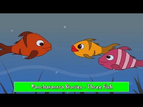 Download Panchatantra Tales In Hindi A Tale Of Three Fish Video 3GP