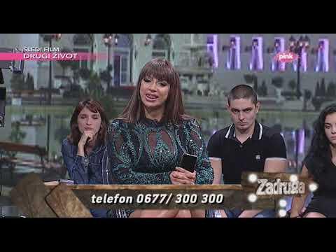 Задрага 2 народ пита - Žестока сваđа Mилджане и Владимира Томовиćа - 23.08.2019.