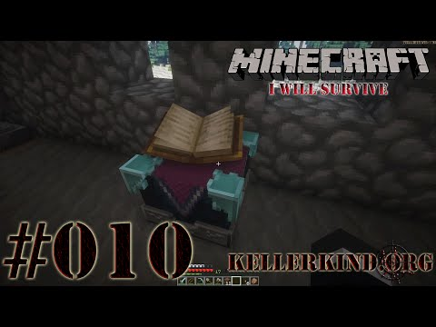 Minecraft: I will survive #010 - Ein Verzauberungstisch ★ Let's Play Minecraft [HD|60FPS]
