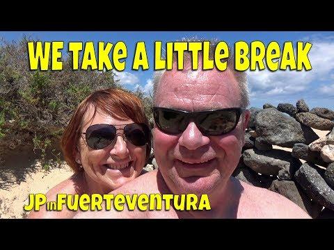 We take a little break - Fuerteventura Princess Hotel