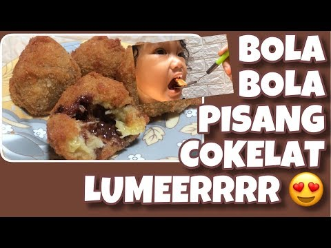 RESEP BOLA BOLA PISANG COKELAT LUMERRR || #CHEFMAMI3
