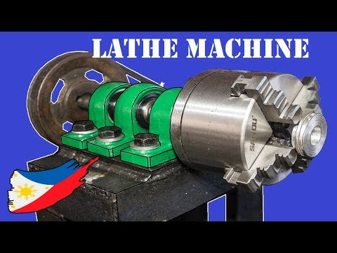 DIY Metal Lathe Machine Without Using a Lathe Machine