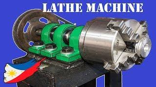DIY Metal Lathe Machine Without Using a Lathe Machine