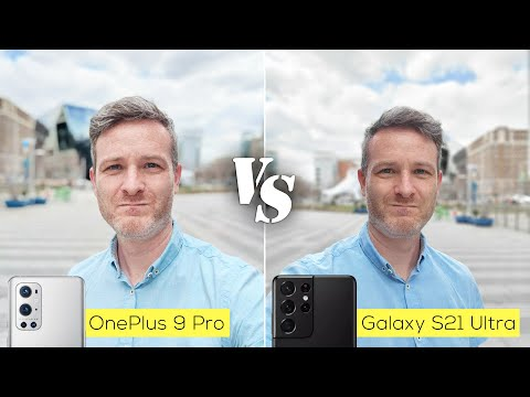 OnePlus 9 Pro versus Galaxy S21 Ultra camera comparison: pure disappointment