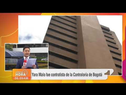 Yara Malo fue contratista de la Contraloria de Bogota