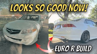 Acura TSX EURO R Lip Kit Installed!