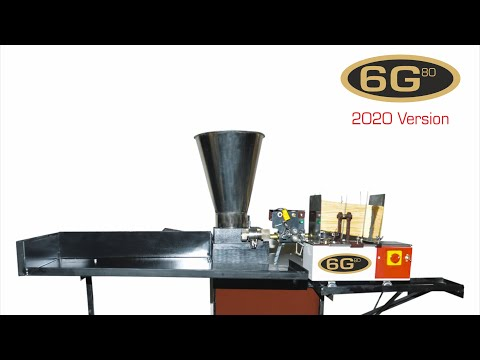 KIO 6G 80 Fully Automatic Incense Stick Making Machine