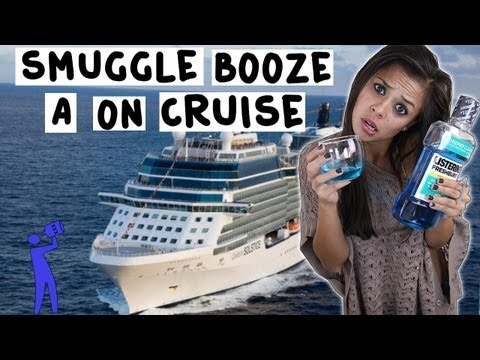 How to smuggle alcohol on a cruise ship – Tipsy Bartender