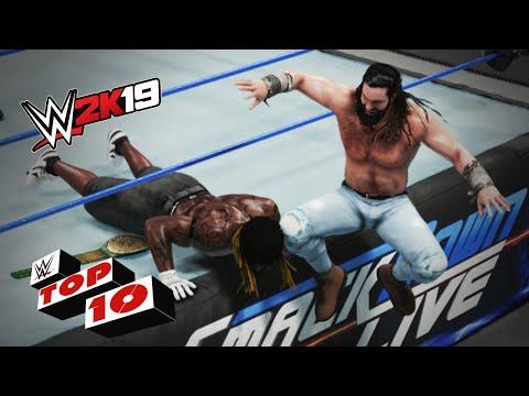 Savage Knee Strikes: WWE 2K19 Top 10