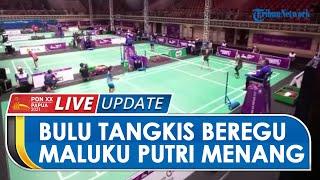 Hasil Pertandingan Bulu Tangkis Beregu PON Papua: Tim Maluku Putri Kalahkan Jateng 3-0