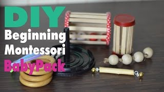 DIY Montessori Spielzeug Baby Pack   5 Toys   mamiblock - Learn & Play