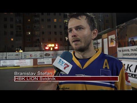 HBK Lion Svidník - HBK PROTEF Považská Bystrica 1:4