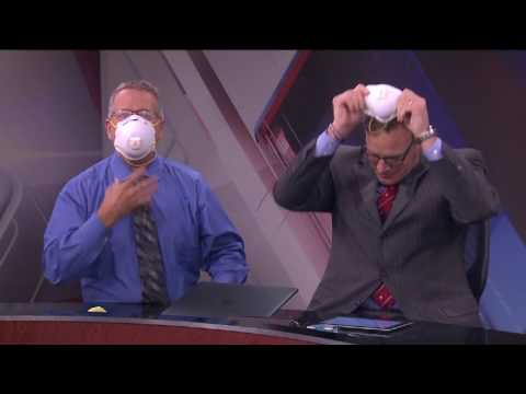 Crew wears masks when anchor comes back from sick days