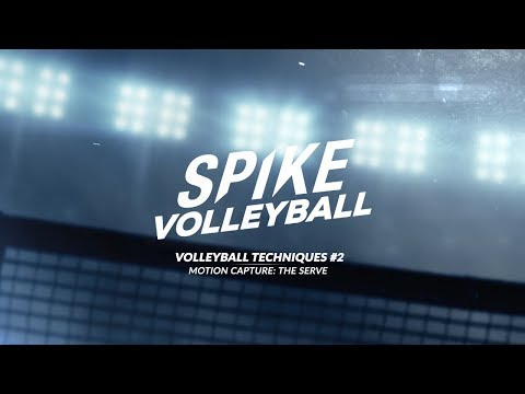 Spike Volleyball | Motion Capture : The Serve thumbnail