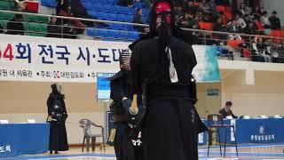이충무공탄신기념 검도대회 김상흔(경북대) 이성희(포항시체육회) 동영상