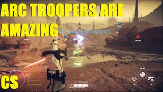 Star Wars Battlefront 2 - Arc Troopers are AMAZING! | For the Republic! (Capital Supremacy)