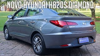 Novo Hyundai HB20S Diamond Plus 1.0 Turbo