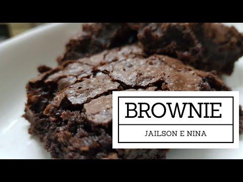 Receita do gato Jailson e Nina, sua assistente: Brownies