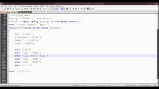 PHP MySql Fetch multiple data