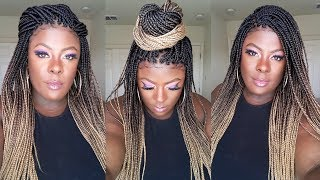 FINALLY! 🙌🏿 No BULKY Braids Here || Full Lace PERFECTION || Ft. NeatAndSleek