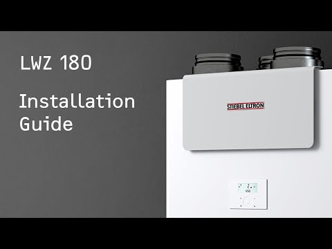 LWZ 180 Installation Guide