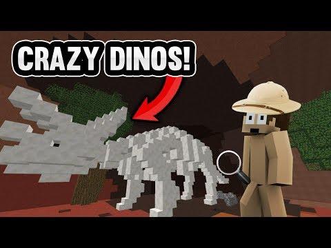 INSANE MINECRAFT DINOSAUR ADVENTURE! | Minecraft Factions