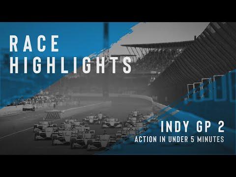 インディーカー 第11戦ミュージック・シティ・グランプリ~ナッシュビル~ レースハイライト動画