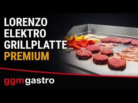 Elektro Grillplatten 900 Lorenzo - GGM Gastro