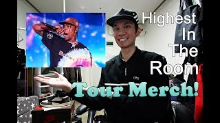 Travis Scott HIGHEST IN THE ROOM TOUR MERCH REVIEW!!!