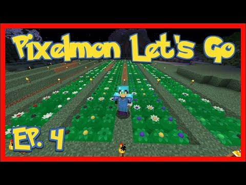 Pixelmon - EP4 - Apricorn Farm - Modded Minecraft 1.12.2