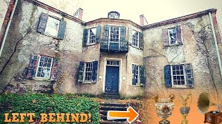 Abandoned Mansion of Famous Antique Collector!