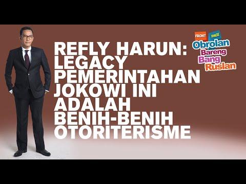 Refly Harun: Legacy Pemerintahan Jokowi Ini Adalah Benih-benih Otoriterisme