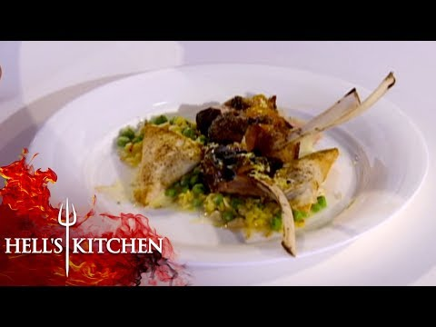 Indian Inspired Dish Causes Confusion   Hell's Kitchen