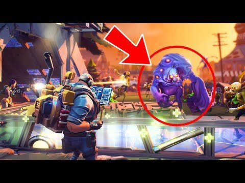 WHAT IS THAT?! (Fortnite Save the World)