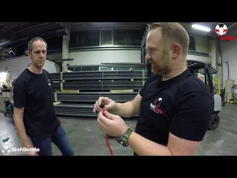 Stahlkralle Gepäckspanner / Bungee Cord - Premium Edition / Set
