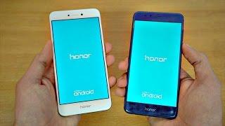 Huawei Honor 8 Lite vs Honor 8 - Speed Test! (4K)