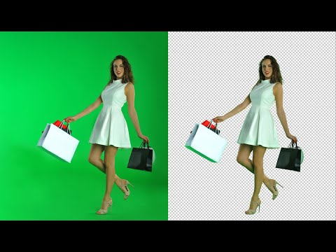 How to KEY OUT a GREEN SCREEN in PHOTOSHOP