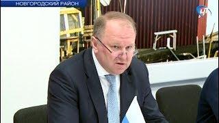 Новгородскую область посетил Полпред Президента в СЗФО Николай Цуканов