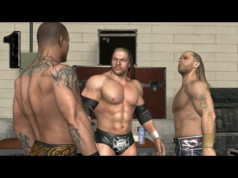 Download WWE Smackdown vs Raw 2009 TRIPLE H PART 1 ROAD TO WRESTLEMANIA HD Mp4 3GP Video and MP3