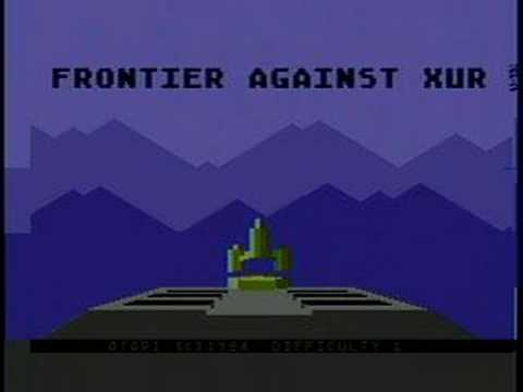 Atari 8-bit Intro - The Last Starfighter