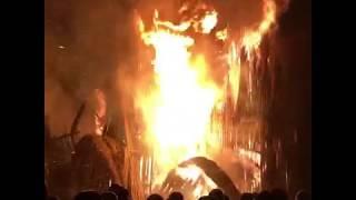 Сожжение католического собора