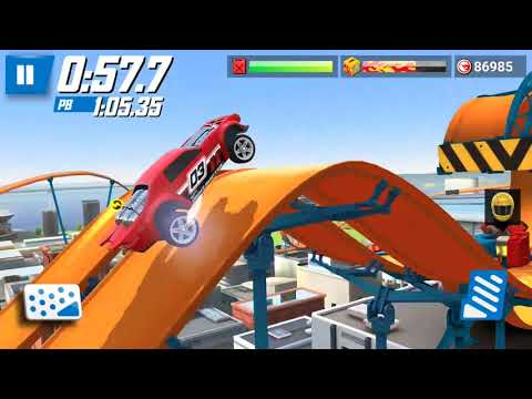 Hot Wheels: Race Off - Daily Race Off Random Levels Supercharged #15 | Android Gameplay| Droidnation