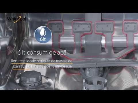 Masina de spalat vase Whirlpool WFO 3T223 6P X