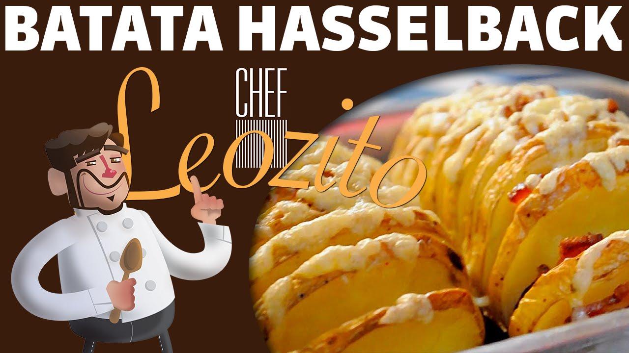 Batata Hasselback – Chef Leozito e Cia #10