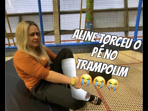 DIA DE TRAMPOLIM DEU RUIM ! ! ! #trampolim #china #familia #lifestyle #deuruim