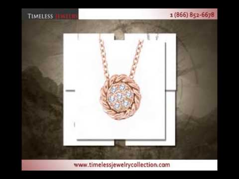 Diamond Necklaces & Pendant Collection by Timeless Jewelry