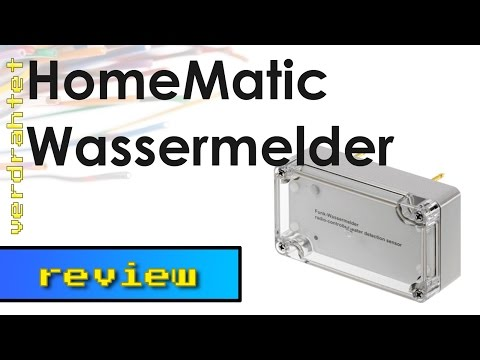 Homematic Wassermelder