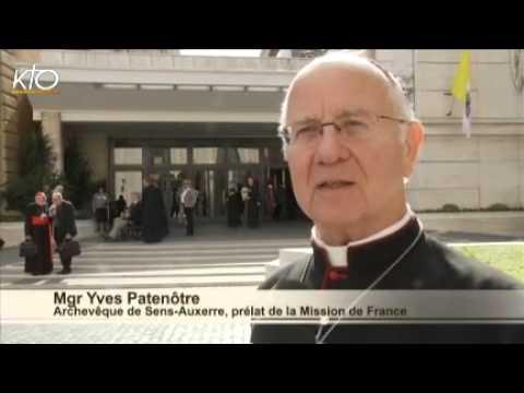 """Mgr Yves Patenôtre : """"Rappeler l'importance de la mission"""""""
