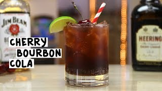 Cherry Bourbon And Cola - Tipsy Bartender