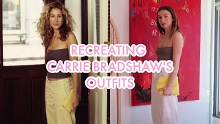 RECREATING ICONIC OUTFITS: Carrie Bradshaw - Sex And The City